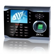 ZKTeco iClock 360 Fingerprint Time Attendance Terminal with Adapter