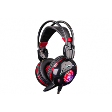 A4 TECH BLOODY G300 COMBAT GAMING HEADSET BLACK+RED