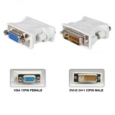 VGA to DVI-D Port Converter