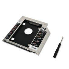 Second Hard Disk Drive CADDY-Secondary CD-ROM Storage for Laptop