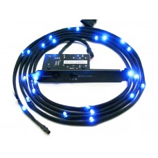 NZXT Sleeved LED 100cm Blue Cable