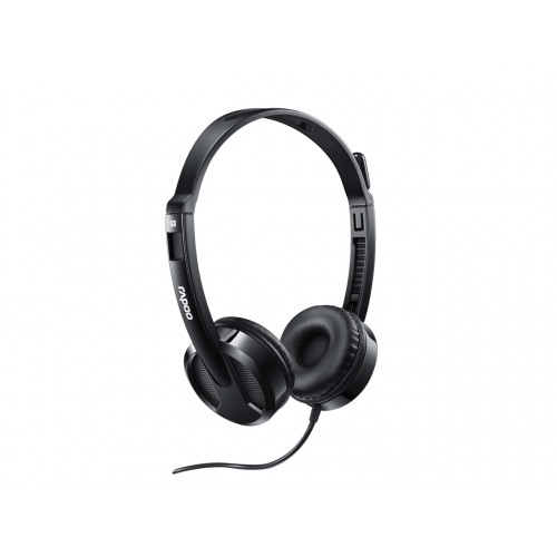 Rapoo H100 3.5mm Single Port Headphone Black
