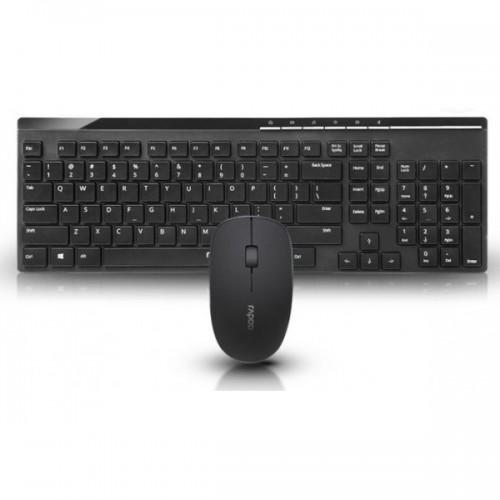 35285610c56 Rapoo X8100 Wireless Mouse & Keyboard Price in Bangladesh