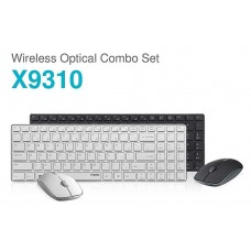 Rapoo X9310 Wireless Ultra Slim Aluminum Alloy Keyboard Mouse Combo
