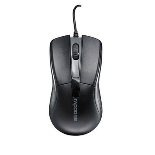 Rapoo N1010 Wired Optical Mouse