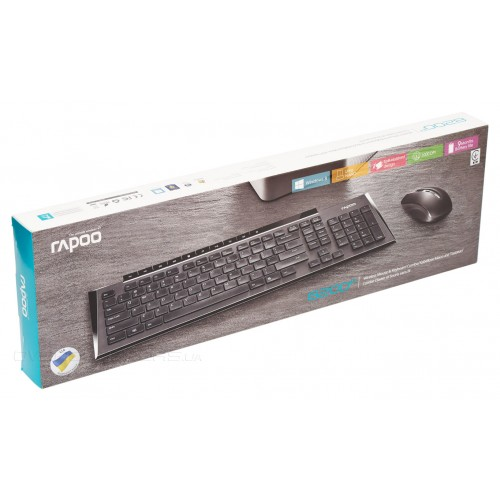 Rapoo 8200p Wireless Mouse Amp Keyboard Price In Bangladesh