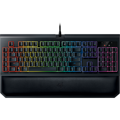 Razer BlackWidow Chroma V2 Mechanical GREEN SWITCH Gaming Keyboard