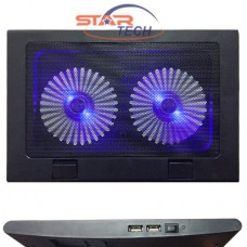 Suntech A8 Duble Fan LED Laptop Cooling Pad