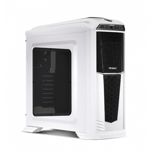 Antec GX330 Mid Tower Window White Gaming Casing