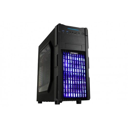 Antec GX200 BLUE LED Window Gaming Casing