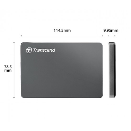 Image result for Transcend StoreJet 25C3N External Hard ترنسند مدل StoreJet 25C3N ظرفیت 2 ترابایت- 2TB