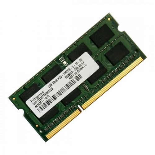 Kingston 2GB DDR3 1333 Mhz Laptop Ram