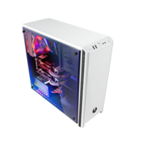 Bitfenix Nova TG White Gaming Case