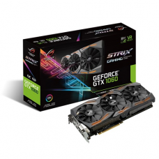 Asus Rog Strix Gtx1060 OC Gaming 6GB Gddr5 Graphics Card