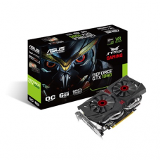 Asus Strix GeForce® GTX 1060-DC2O6G OC Edition 6GB GDDR5 Graphics Card
