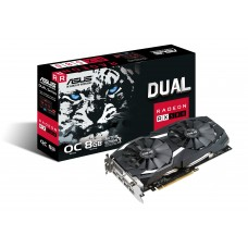 Asus Dual series Radeon RX 580 OC edition 8GB GDDR5 Graphics Card