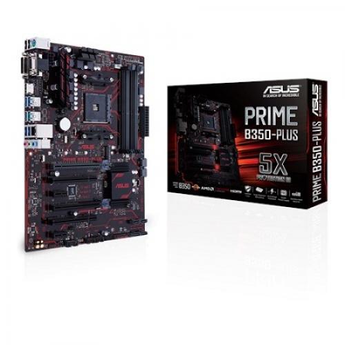 Asus PRIME B350-PLUS AMD AM4 ATX Motherboard