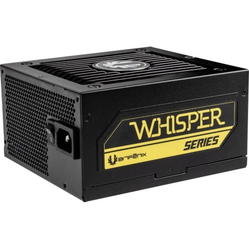BitFenix Whisper M 650 80 Plus Gold Full Modular Power Supply BWG650M