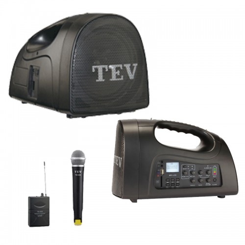 TEV TA-220 Portable Speaker-Microphone Set