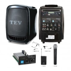 TEV-TA-300 Portable Speaker-Microphone Set