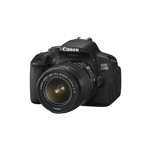 Canon EOS 650D DSLR 18.0 MP With 18-55mm Lens