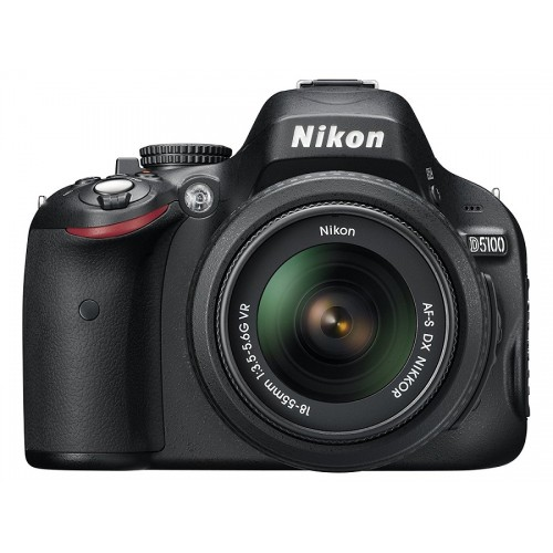 Nikon D5100 DSLR Camera with 18-55mm Lens