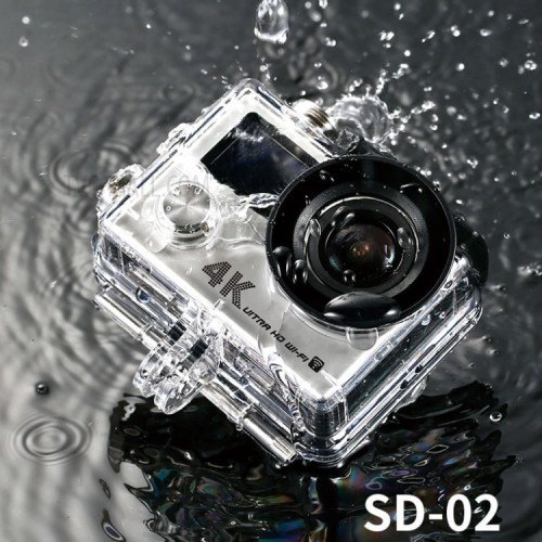 Remax SD-02 Mini 4K Ultra HD Wifi Action With Waterproof Sports Camera