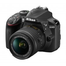 Nikon D3400 DSLR 24.2 MP FHD Video With 18-55mm Lens