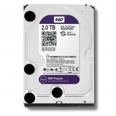 "Western Digital 2TB 3.5"" SATA Purple Desktop HDD"