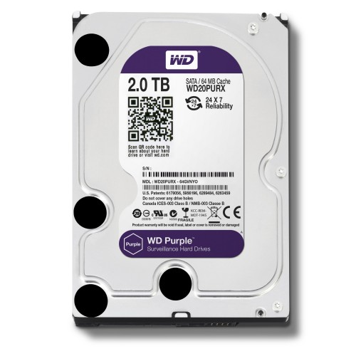 Western Digital 2TB Purple Desktop HDD