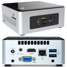 Intel NUC Kit NUC5PPYH Quad Core Mini PC