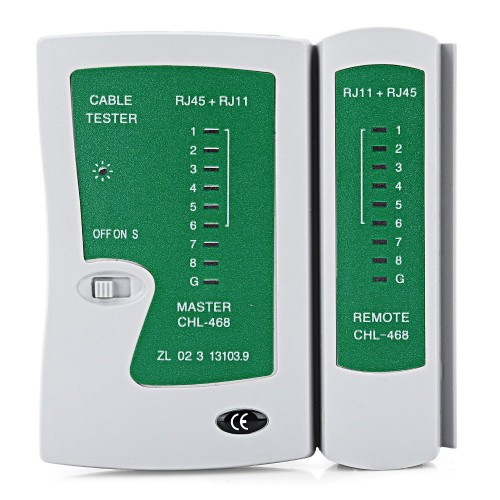 A-Grade Networking Cable Tester With BNC Test (Battery Included)