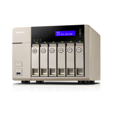 QNAP TVS-663-4G 6-Bay Golden Cloud Turbo vNAS
