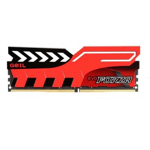 GeIL DDR4 Evo Forza 2400MHz 16GB Desktop RAM (Red HS)