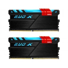 GeIL EVO X DDR4-2400 16GB(8GBx2) Dual-Channel Kit RGB RAM