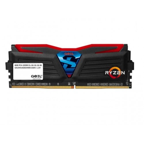 GeIL Super Luce DDR4-2400MHz 8GB AMD Ryzen Edition (Red LED) RAM