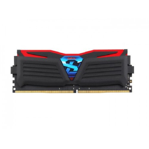 GeIL Super Luce DDR4-2400MHz 4GB Desktop RAM (Red light)