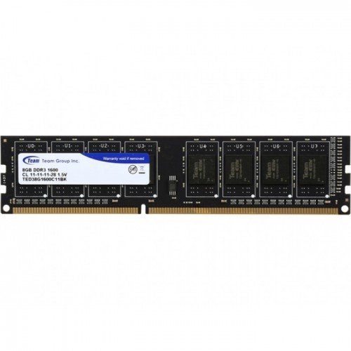 Team Elite 8GB DDR3 (1x8GB) 1600Mhz Desktop RAM