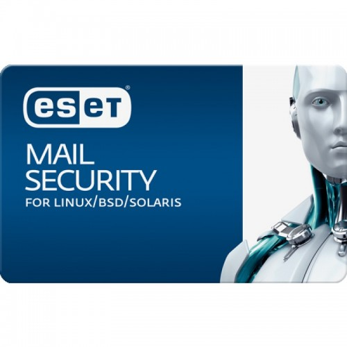 ESET® Mail Security for Linux/Free BSD (Volume up to 05 to 249)