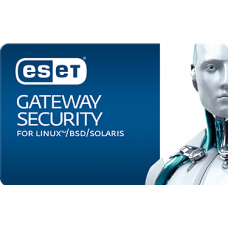 ESET® Gateway Security for Linux/Free BSD (Volume up to 05 to 249)