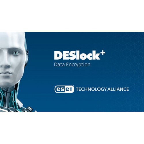 DESlock & Data 256 bit AES Encryption (Volume up to 1 to 24)