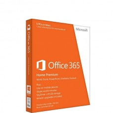 MS Office 365 Home 32-bit/X64 Eng Subscr 1yr APAC EM Medialess