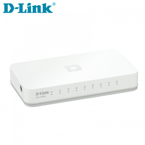 D-Link DES-1008 C 8-port 10/100M Unmanaged Switch