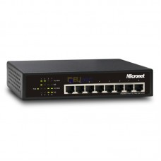 Micronet SP6008P 8 PORT PoE Unmanaged SWITCH