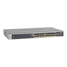 Netgear M4100-24G-PoE+(GSM7224P) 24-Port ProSafe Gigabit L2 Manage+PoE Switch+4SFP
