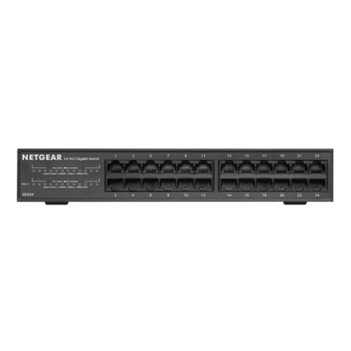 Netgear GS324 24-Port Gigabit Rackmount Switch