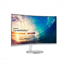 Samsung LC32H711QEW 32 Inch Curved Borderless Monitor