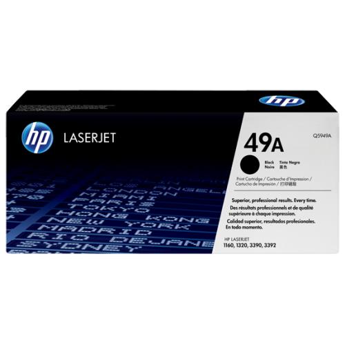 HP 49A Black Toner (For LJ1320, 1160, 3390)
