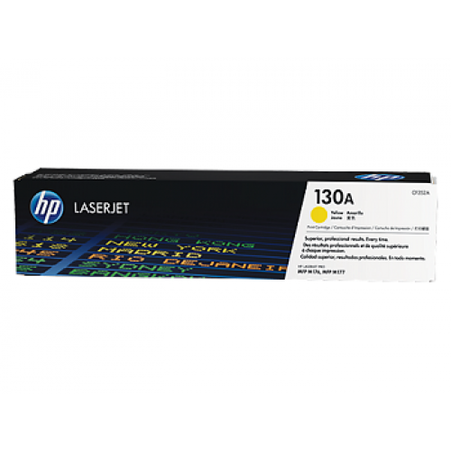 HP 130A Yellow Original LaserJet Toner Cartridge (For CLJ M177FW MFP)