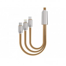 Awei CL-21 3 in 1 Multi Charging Cable